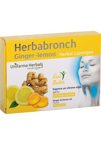 HERBABRONCH ginger-lemon