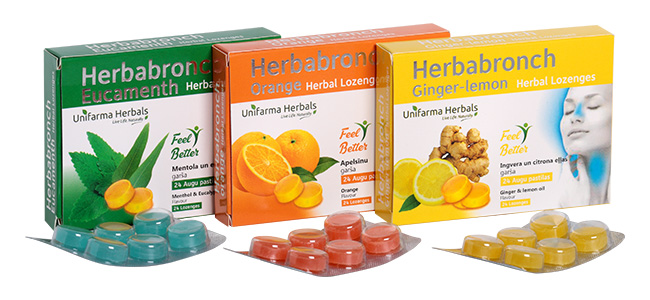HERBABRONCH herbal lozenges
